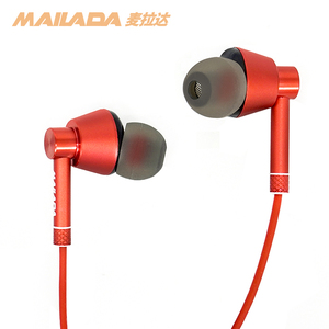 Image 5 - Mailada Monitoring Earphone Plated Heavy Bass Earbud In Ear Music HD Metal In Ear Monitor Bass Headphone For iPhone Huawei