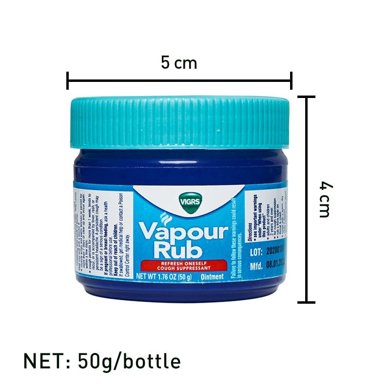 Nuovo arrivo bianco olio freddo crema di menta piperita per prevenire punture di zanzara mal di testa dolori muscolari unguento per alleviare il dolore 50g 2