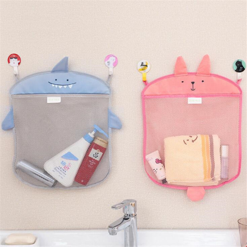 Fashion Cartoon Hanging Bag Mesh Storage Travel Bag Bathroom Multifunctional Cosmetic Bag Male And Female Travel Accessories