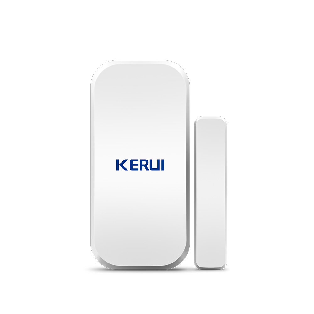 Kerui 433MHz Home Wireless Door Window Magnetic Detector Gap Sensor  For Home Security Alarm System Touch Keypad