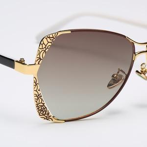 Image 3 - 2018 Star Style HD Polarized Women Luxury Sunglasses Brand Designer latest female UV400 ladies Sun Glasses with box