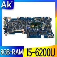 Akemy ux305ua placa-mãe do portátil para asus ux305ua ux305u u305u mainboard 100% teste ok I5-6200U 8gb-ram