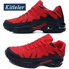 Yeni hava yastığı erkekler Sneakers yaz rahat ayakkabılar erkekler nefes eğitmenler ayakkabı KITLELER Tenis Masculino Adulto Schoenen Mannen