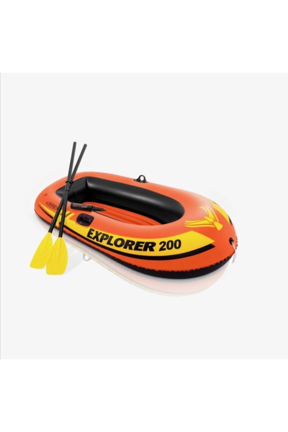 Комплект надувной лодки 185x94x41 см (весло + насос)