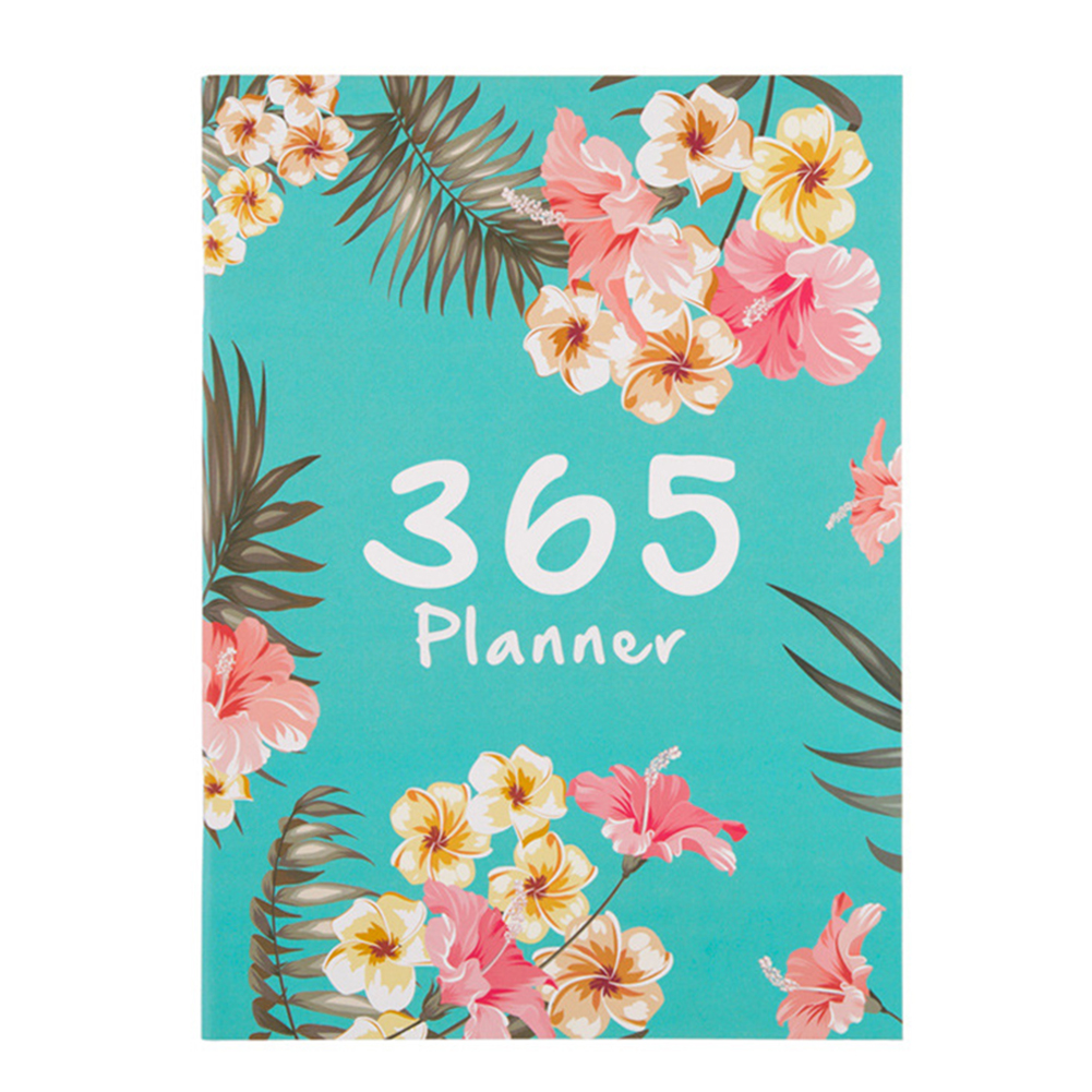 DIY Agenda Daily Weekly Annual Planner A4 Notebook Plan 2020 Organizer Office Schedule School Supplies Stationery Book