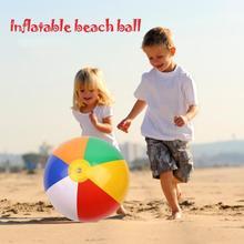 Kawaii Summer Outdoor Inflatable Beach Ball Toy Fun Outdoor Beach Inflatable Inches  Ball Swimming Toy