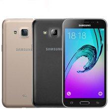 Samsung Galaxy J320 J3 smartphone, desbloqueado, 8GB de memória, 4G LTE, GPS, câmera de 8mp, wi-fi, Android original, processador quad core