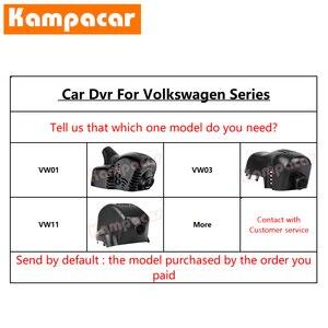 Image 5 - Kampacar VW15 C Wifi דאש מצלמת רכב Dvr מצלמה עבור פולקסווגן פולקסווגן פולו פאסאט B8 בורה CC גולף Sportsvan 7 מושב ליאון 1080P DashCam
