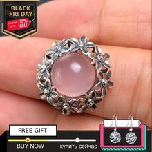 10*10 мм не поддельные S925 стерлингового серебра Австралия рубиновые кольца искусство и ремесло подарок Магазин литовский халцедон