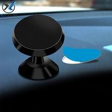 Магнитный автомобильный держатель для телефона KSTUCNE для iPhone XS Max XR X 8 7 6 S, крепление на 360 градусов, магнитный держатель для телефона для samsung Galaxy Note 9 8