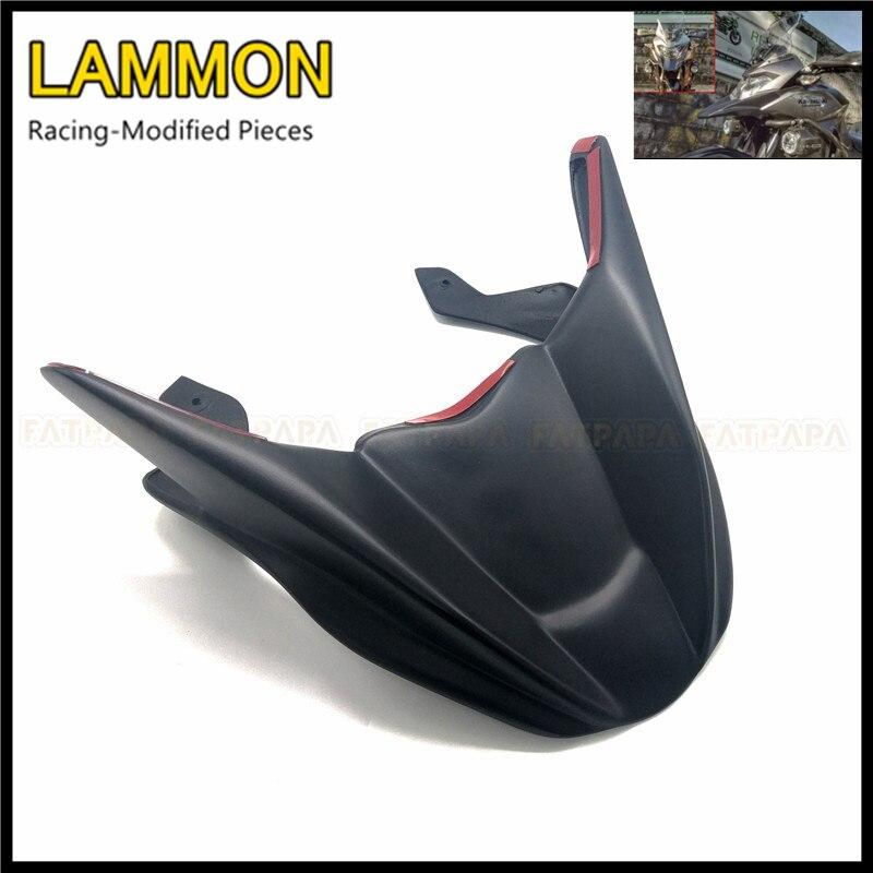 Для KAWASAKI Versys300 Versys X300 Versys X-300 аксессуары для мотоциклов матовый черный из АБС-пластика, обтекаемые фары передние модернизации fender