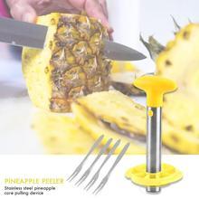 Нержавеющая сталь ананас сердцевины отличное мастерство и долговечность слайсер Овощечистка фрукты Core Инструменты для удаления