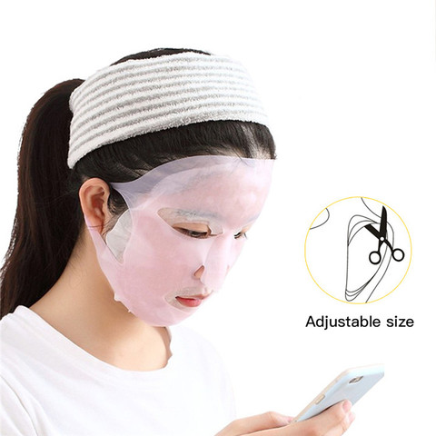 1Pc Reusable Silicone Mask Cover Face Skin Care Hydrating Moisturizing Mask For Sheet Prevent Evaporation Steam Beauty Tool Karachi