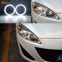 цена на For Mazda 5 Mazda5 2010 2011 2012 2013 2015 Excellent led Angel Eyes Ultrabright illumination smd led Angel Eyes Halo Ring kit