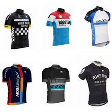 2019 voler Hot mens Cycling Jersey Classic retro Short sleeve Bicycle Clothing Bike Wear Clothes Maillot Ciclism