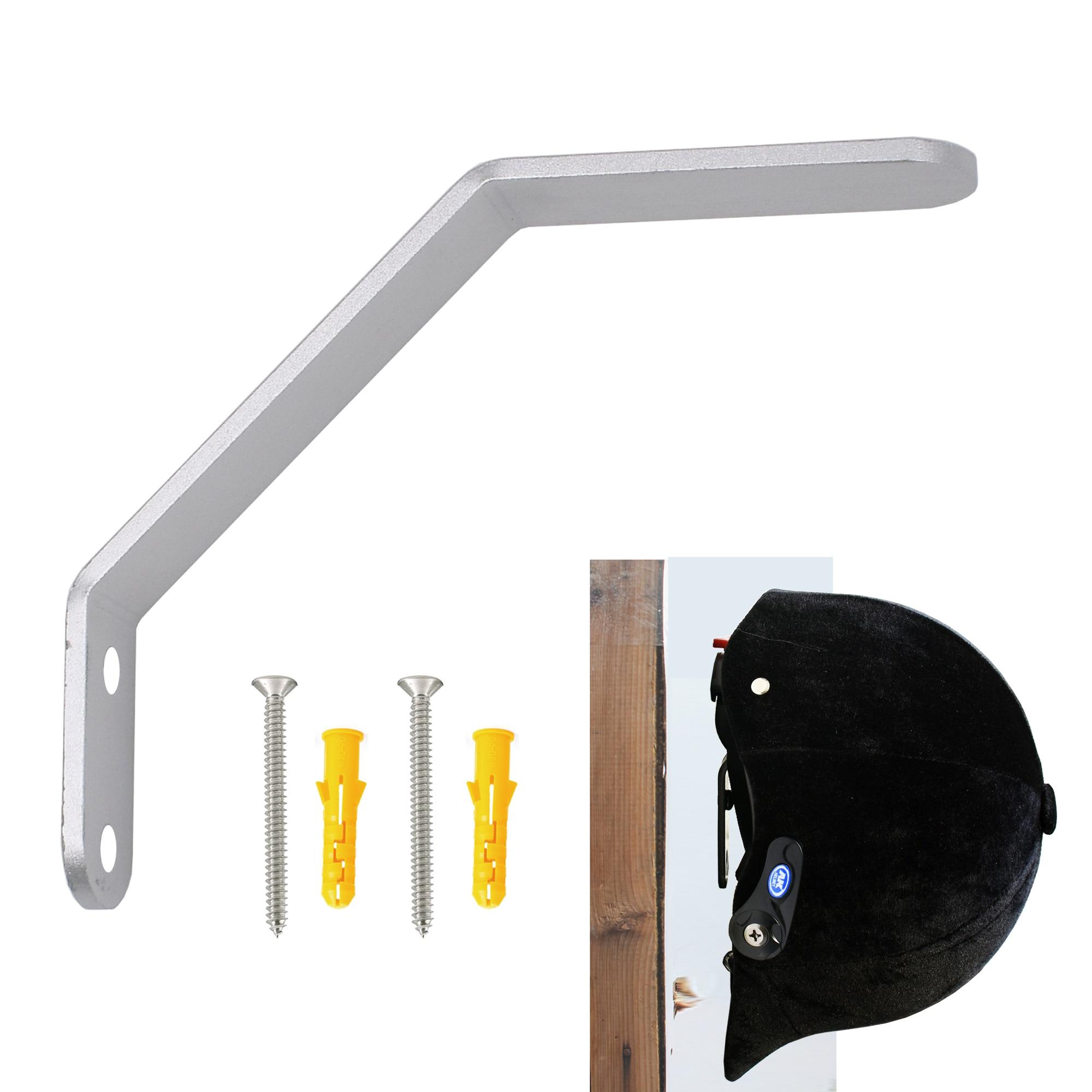 Wall Mounted Equestrian Helmet Rack Holder Hanger - No Helmet