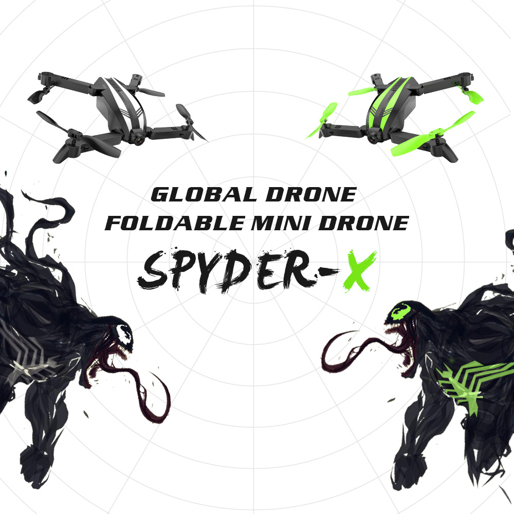 Global Drone Gw68 New Products Folding Mini Unmanned Aerial Vehicle Aerial Photography CHILDREN'S Toy Quadcopter