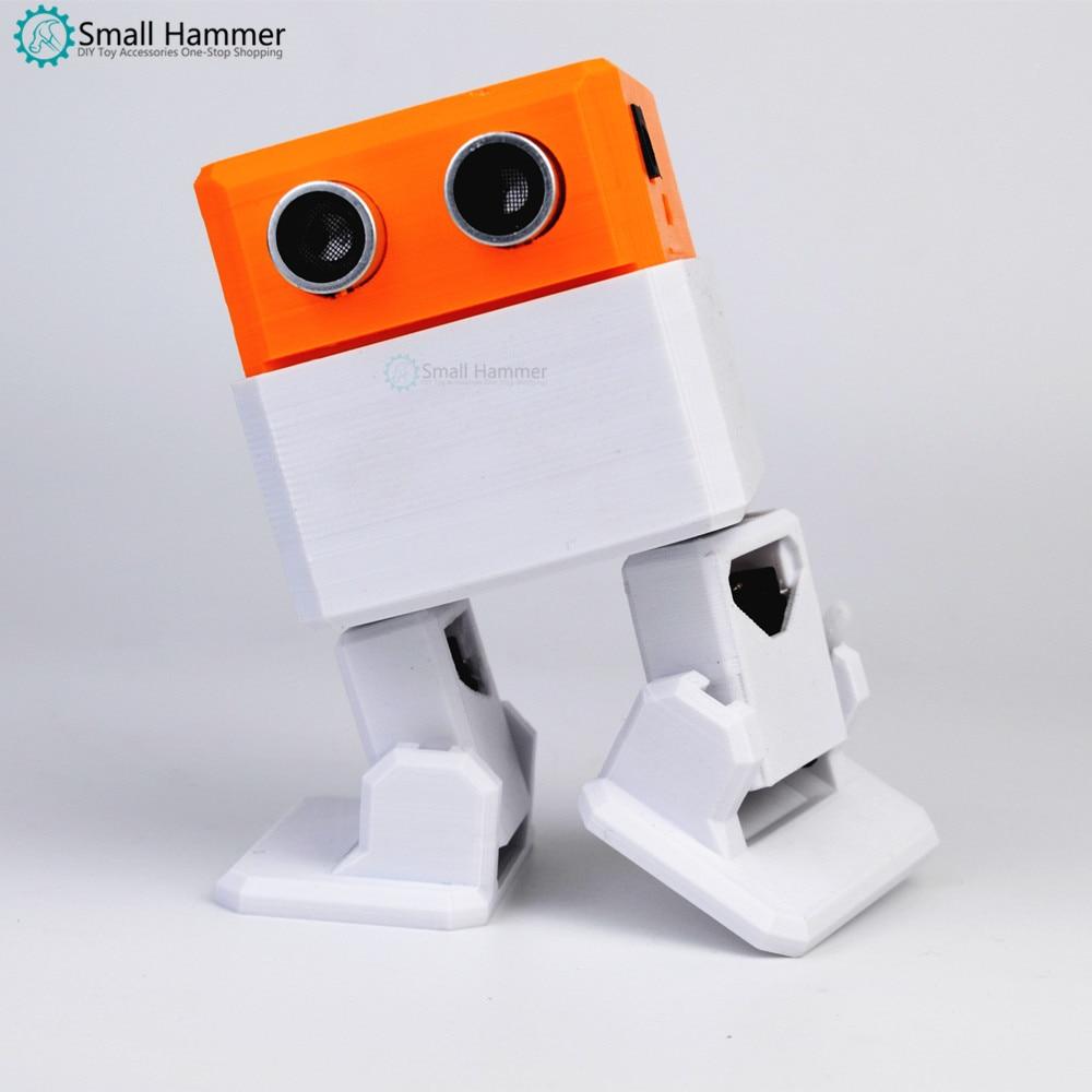 Top SaleBuilder-Kit Open-Source-Maker Otto Nano-Robot Arduino DIY 3D Obstacle Avoidance Playmate