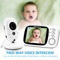 Vb603 cor de vídeo sem fio monitor do bebê com 3.2 polegadas lcd 2 way áudio conversa visão noturna vigilância câmera segurança babá