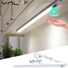 LED Küche Schrank Lichter Innen Schlafzimmer Kleiderschrank Motion Sensor Lampen Smart Schlauch DC 12V 30/40/50cm EU Stecker Schrank Lichter