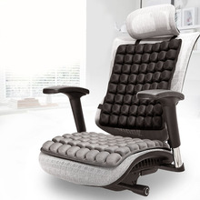 купить 3D TPU Car Massage Seat Cushion Breathable Chair Protector Universal Non-slip Air Car Seat Mat дешево