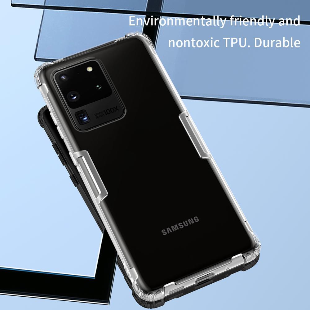 Samsung Galaxy S20 Ultra NILLKIN Təbiət TPU üçün şəffaf - Cib telefonu aksesuarları və hissələri - Fotoqrafiya 5