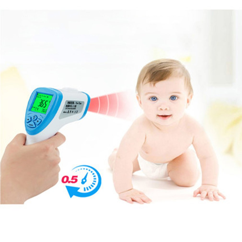 new Handheld Infrared Thermometer High Precision Portable Thermometer Home Non-Contact Infrared Thermometer 4
