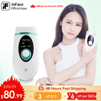 InFace 900000 Flash Permanent IPL Epilator Laser Hair Removal Electric Painless Threading Whole Body Remover - discount item  40% OFF Personal Care Appliances