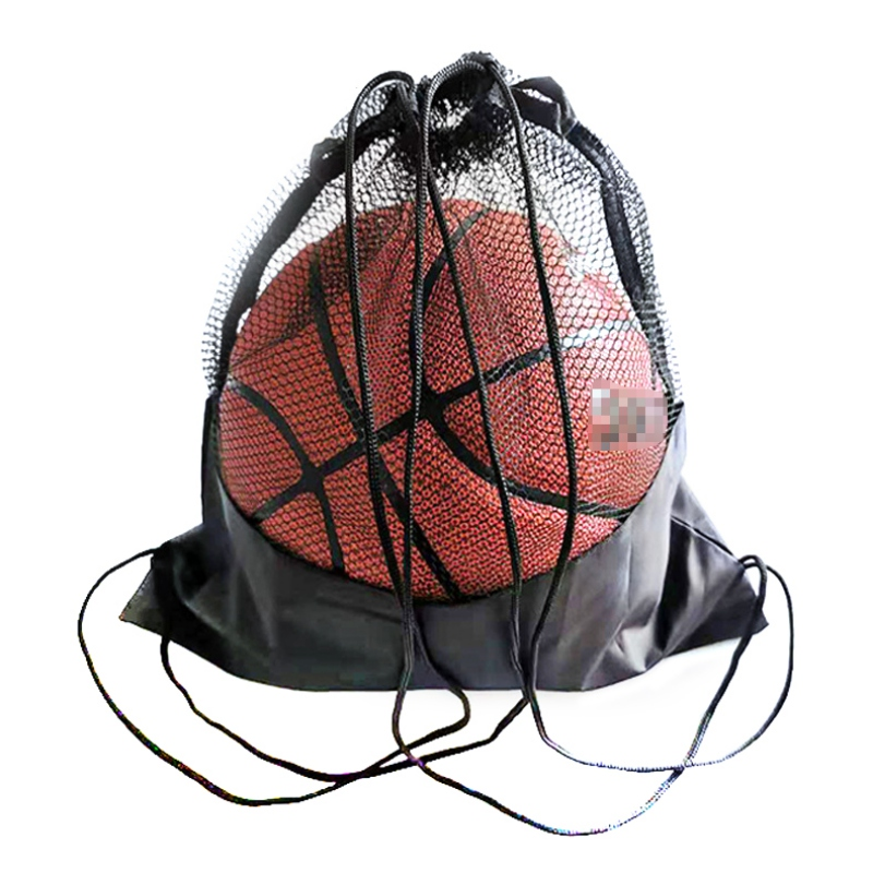 Portable Basketball Cover Mesh Bag Football Soccer Storage Backpack Outdoor Volleyball Ball Storage Bag