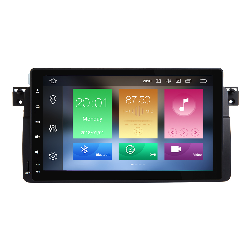 Image 2 - AutoRadio Car Multimedia Player 1 Din Android 9.0 For BMW E46 M3 Rover 75 coupe 318/320/325/330/335MGZT GPS Navigation head Unit-in Car Multimedia Player from Automobiles & Motorcycles