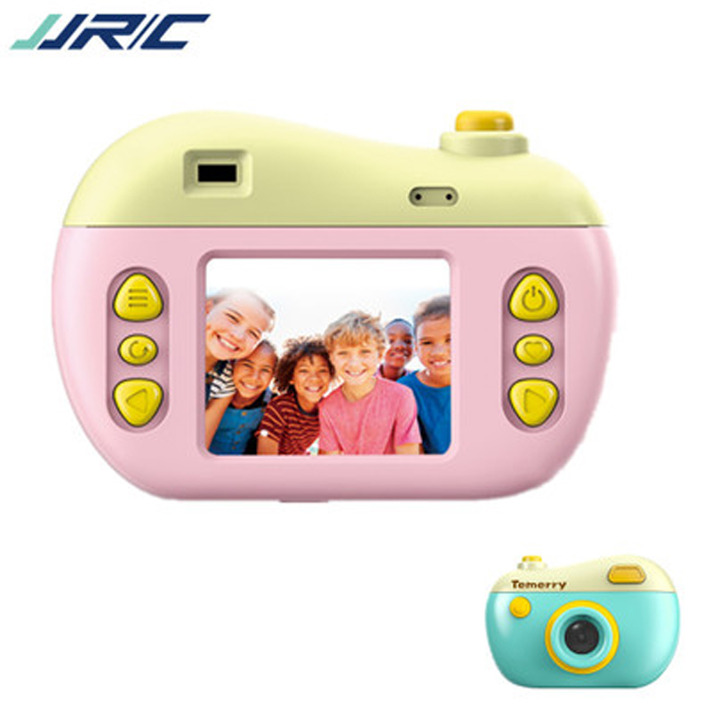 Temerry Toy V01 12MP 2.0 Inch HD Screen Kids Mini Digital Camera Camcorder Cameras Temerry Toy With Play Games Gifts