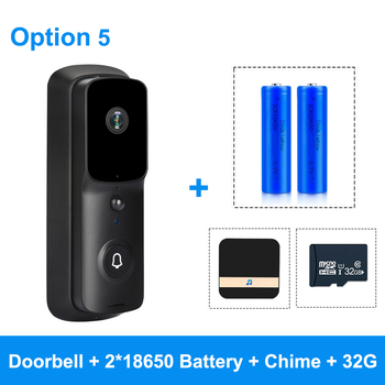 ZILNK WIFI Doorbell Camera 1080P HD Smart WI-FI Video Intercom IP Door Bell With Chime For Apartments Wireless Security Visual 11