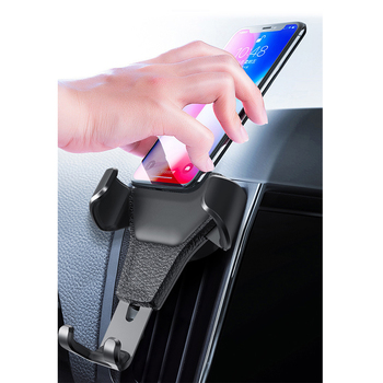 Gravity Car Phone Holder for iphone 11 8 x xr huawei Mount Mobile Phone Holder Air Vent Clip Cell Phone Stand Support Dropship image