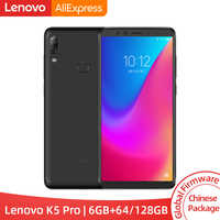 Versión Global Lenovo K5 Pro 6GB RAM 64 GB/128 GB Snapdragon 636 Octa Core cuatro cámaras 5,99 pulgadas 4G LTE Smartphone 4050mAh