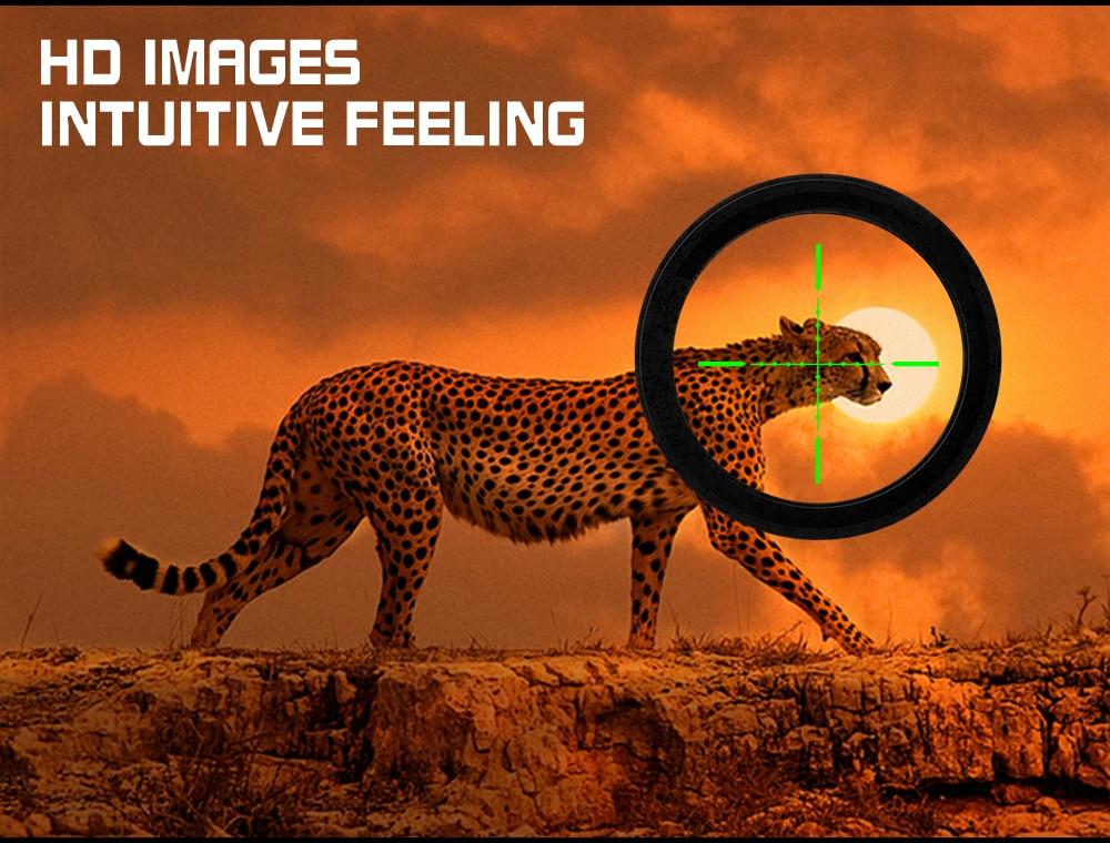 3-10x42 tactical retículo vista holográfica vermelho verde