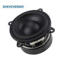 3 Inch 83MM Woofer Bass Mid Speaker 6ohm 15W Long stroke Built in type Protable Woofer midrange 1pcs