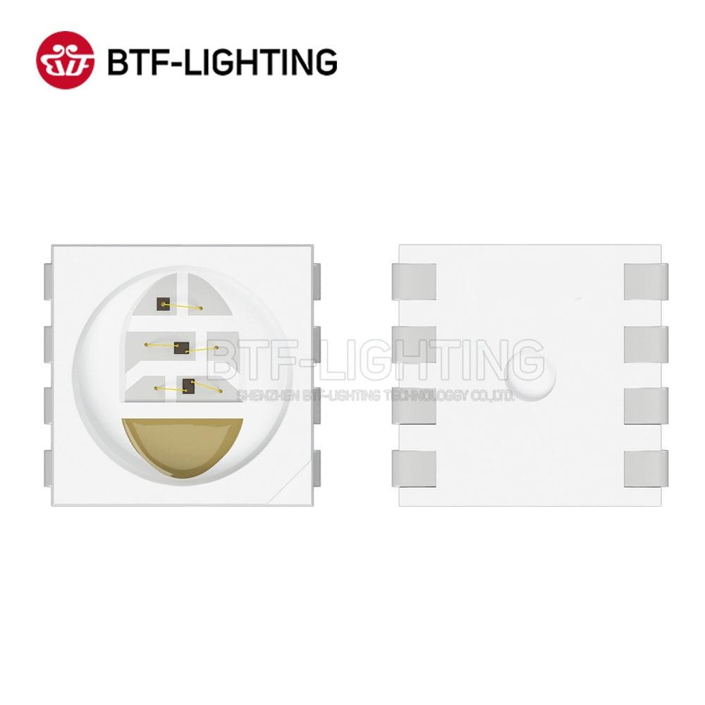 BTF5050RGBW 1000pcs 5050 SMD LED Chip 0.4W/PCS RGBW 4 Color in 1 Led Red Green Blue White for Led Strip DC 5V