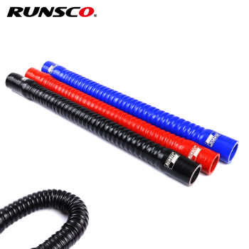 цена на Universal Id 16 18 20 25 28mm Silicone Flexible Hose Water Radiator Tube for Air Intake High Pressure Rubber Joiner Pipe