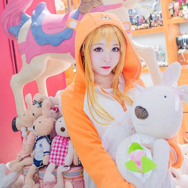 Anime Little Fox Cosplay Embroidered Hoodie Premium Small Hamster Hoodie Sweatshirt