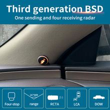 Blind-Spot-Monitoring Radar Microwave RCTA BSA Bsd Bsm Driintel AOA Millimeter Variable