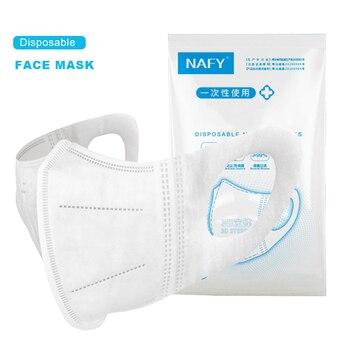 【10pcs/Bag】NAFY 3D Face Mask Protective Mask 3 Layer Mouth Masks Disposable Anti-Fog Filter Mask Wholesale