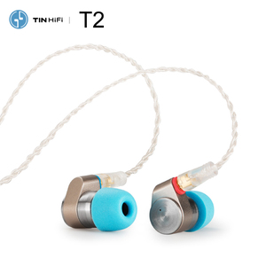 Image 2 - Tinhifi T2 PLUS / T2 / T2 pro HiFi Audio Dual Dynamic In ear Earphone IEM with Detachable MMCX Cable