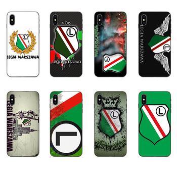 Резиновый мягкий чехол для телефона, Футбольная легиа, Warszawa, Польша, для Apple iPhone 11 X XS Max XR Pro Max 4 4S 5 5S SE 6 6S 7 8 Plus