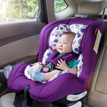 Child car seat baby seated two-way installation 0-4 years old