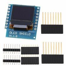 0.66 Inch OLED Display Module For WEMOS D1 MINI ESP32 Module Arduino AVR STM32 64x48