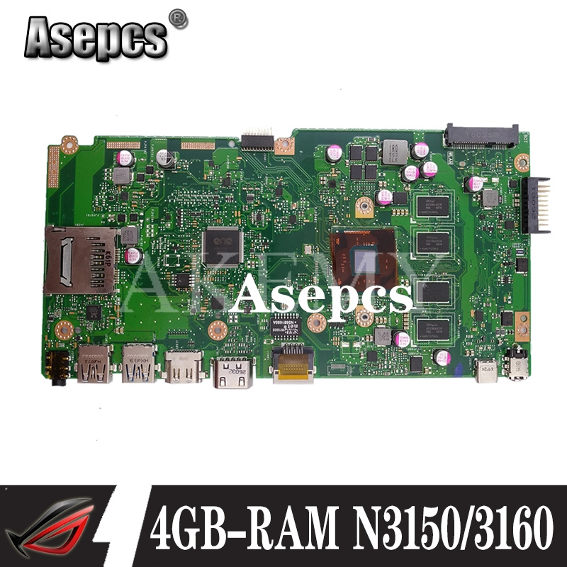 NEW!X540SA laptop mainboard 4GB-RAM N3150/3160 CPU REV 2.0 For <font><b>ASUS</b></font> <font><b>X540</b></font> X540S X540SA X540SAA laptop <font><b>motherboard</b></font> Test ok image