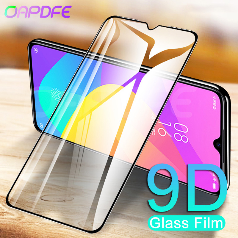 9D Full Cover Tempered Glass On For Xiaomi Mi 9 8 SE 9T Pro CC9 CC9E A3 A2 Lite Play F1 Screen Protector Safety Protective Film