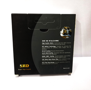 Image 5 - Benro 49/52/55/58/62/67/72/77/82mm SHD ND16 ND32 ND64 ND128 ND256 ND500 ND1000 מעגלי ND מסנן