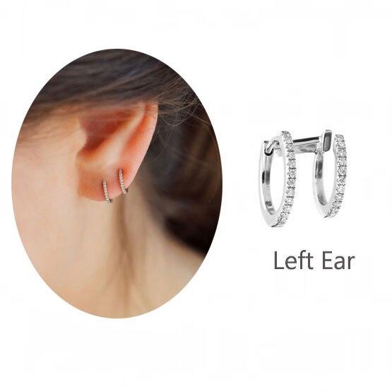 LEFT SILVER EARRING