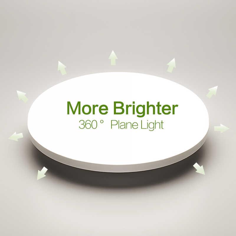 Quadrato HA CONDOTTO LA Luce di Pannello 18W 24W 36W 48W Da Incasso Rotondo AC85-265V Superficie LED Lampada da Soffitto Per La illuminazione della cucina